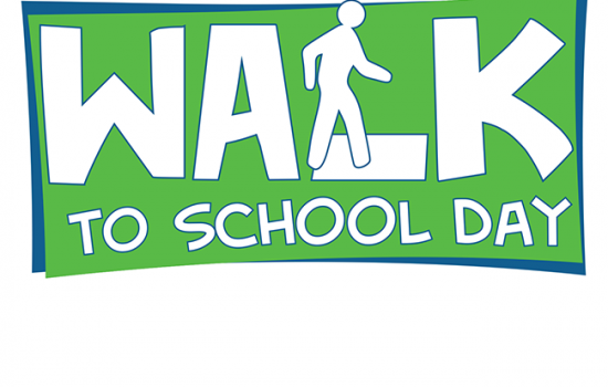 International Walk to School Day – October 5th