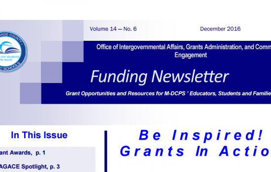 Upcoming Grant Opportunities, Grant Writing Resources, and Community Engagement Initiatives